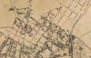 Mapa da cidade de São Paulo 1881