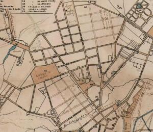 Mapa de São Paulo em 1868