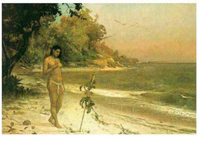 óleo sobre tela (168,3 x 255cm) - Acervo Museu Nacional de Belas Artes, Rio de Janeiro - RJ