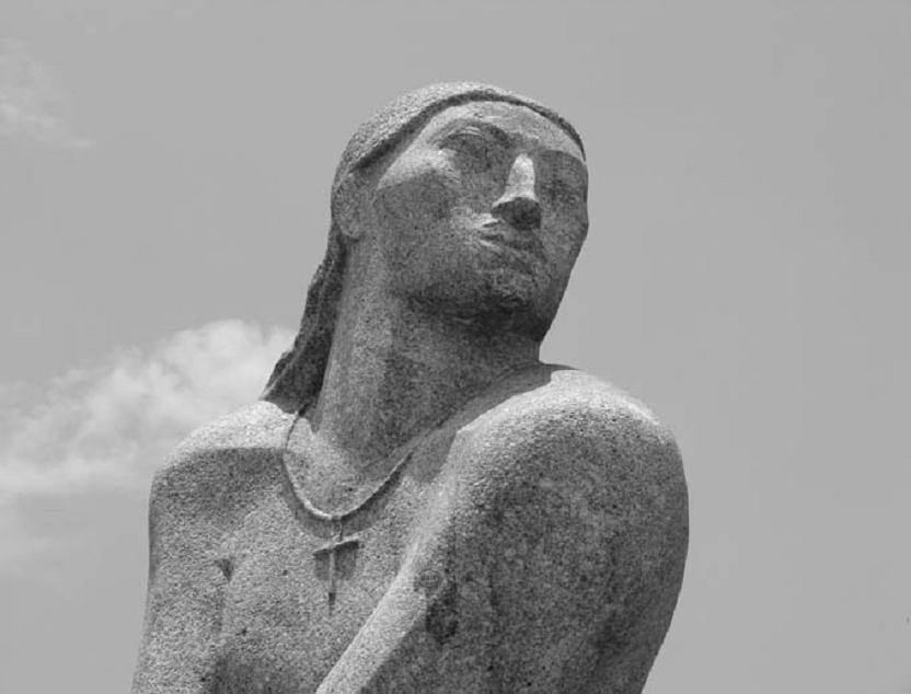 Índio Cristianizado - Monumento às Bandeiras