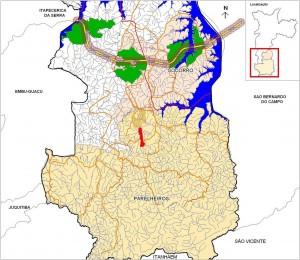 Imagem 4: Rodoanel Trecho Sul, atravessará a Represa de Guarapiranga