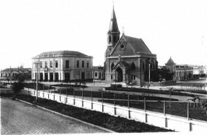 Entrada da Vila Maria Zélia - 1917