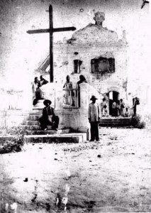 """""""Ruínas da Igreja Velha de Sto. Antônio"""" (Flávio de Barros - 1897)"""