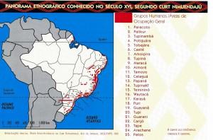 Mapa 5 - Parorama Etnografico segundo Nimuendaju