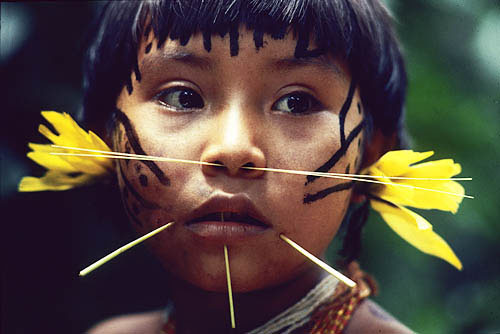 Brazil. Yanomami Indian 8